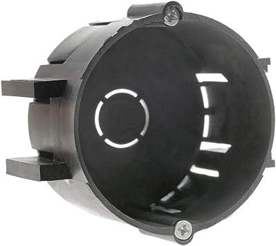 BeMatik - Caja de empotrar Redonda 65mm cajetín de Conexiones ...