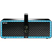 Hercules WAE NEO Bluetooth Portable Speaker with Lighting Effects - Retail Packaging - Black