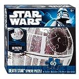 """Star Wars 6"""" Death Star 60 Piece Sphere Puzzle"""