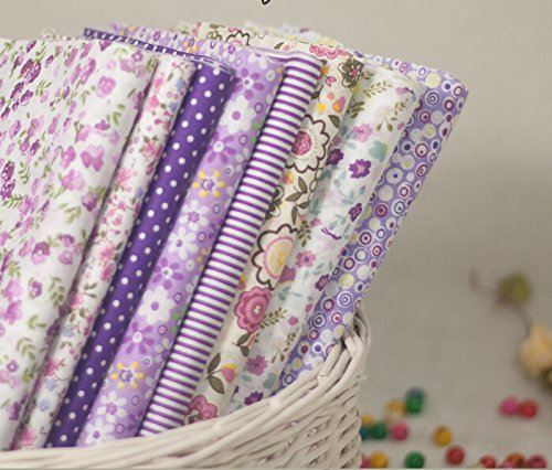 Little Flower With Different Styple Cotton Fabric Bundle
