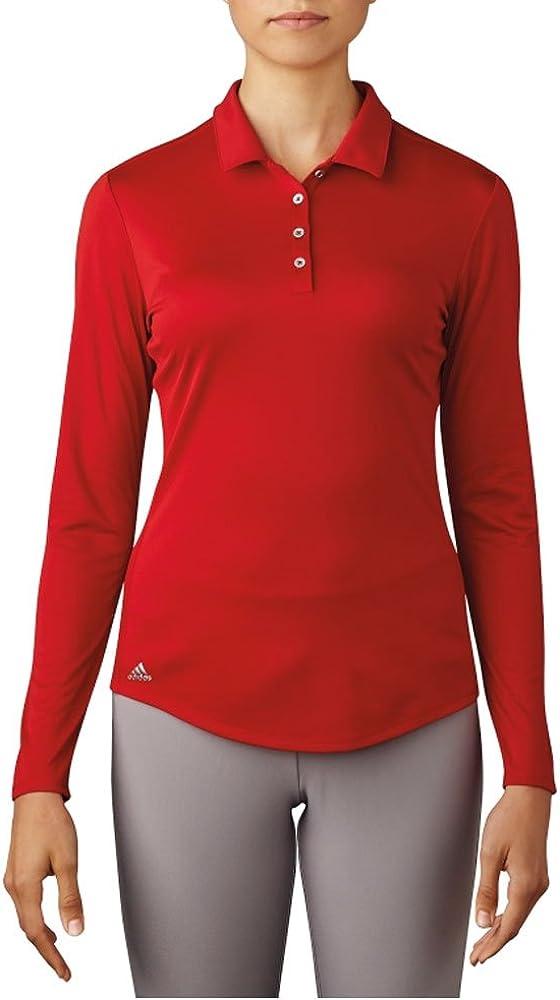 adidas Golf Mujer Rendimiento Polo de Manga Larga T-Shirt, Mujer ...