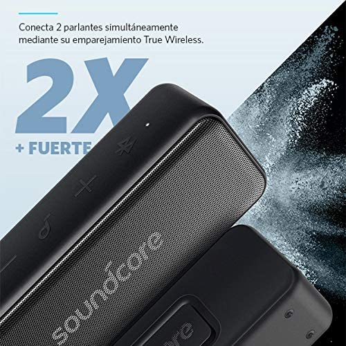 Anker Soundcore Motion B, Portable Bluetooth Speaker, with 12W Louder Stereo Sound, IPX7 Waterproof, and 12+ Hr Longer-Lasting Playtime, Soundcore Speaker Upgraded Edition for Home and Outdoors 51eAnb7nbnL
