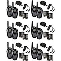 12 COBRA CXT225 MicroTalk 20 Mile GMRS/FRS 22 Channel 2-Way Radio Walkie Talkies