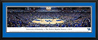 Kentucky Wildcats - Rupp Arena - Perfect Regular Season - Framed Poster Print
