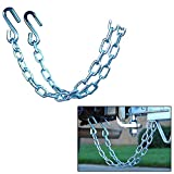 CE Smith Trailer 16671A Class III Rating Safety Chain Set, 5000 lb- Replacement Parts and Accessories for your Ski Boat, Fishing Boat or Sailboat Trailer