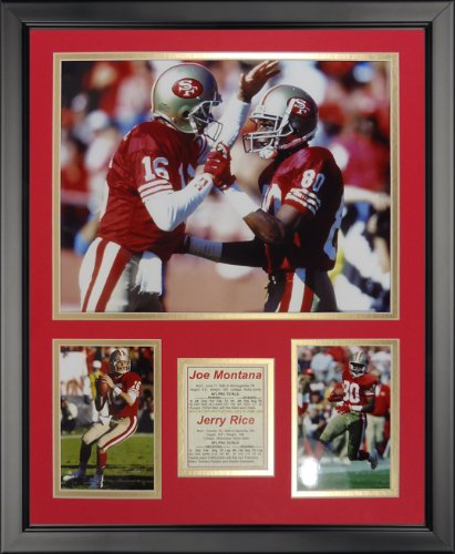 - Legends Never Die San Francisco 49ers - Montana-Rice Framed Photo Collage, 16