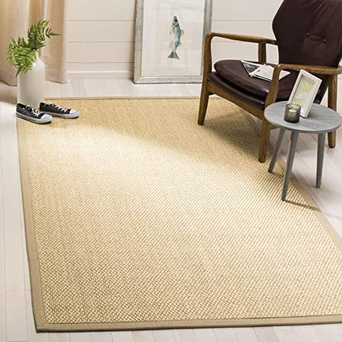 Safavieh NF152A-6 Natural Fiber Collection Abstract Area Rug