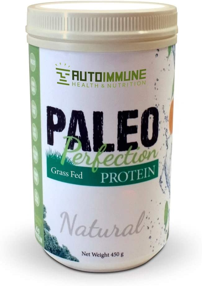 Paleo Protein Powder Paleo Perfection , Grass-Fed Beef Collagen, Autoimmune Protocol AIP , Keto, Specific Carbohydrate SCD , Compliant Legal – Natural 1 lb, 30 Servings