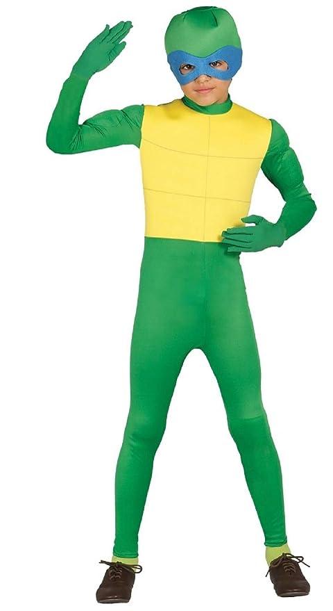 del niño niños Verde Ninja Turtle Animal TV Cartoon Libro ...