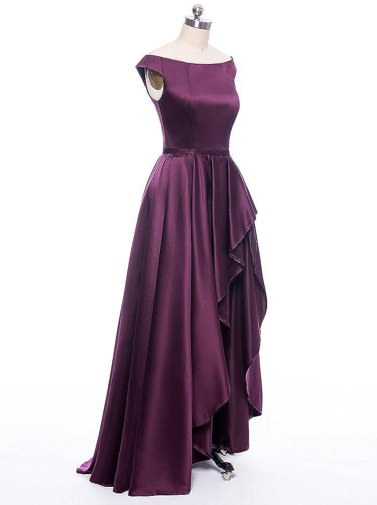 Kevins Bridal Women\'s Off Shoulder Long Evening Prom Dresses High ...