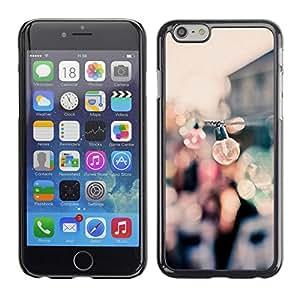 [Neutron-Star] Snap-on Series Teléfono Carcasa Funda Case Caso para Apple (4.7 inches!!!) iPhone 6 / 6S [Partido Bulbos Muelles Puerto verano Enfoque de Blur]
