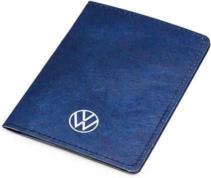 Volkswagen 000087404e Dokumenten Mappe Case Fahrzeugscheinhülle Zulassung Mit Neuem Vw Logo Auto