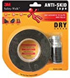 3M 3M_ASTP Anti Skid Tape-Dry, Black