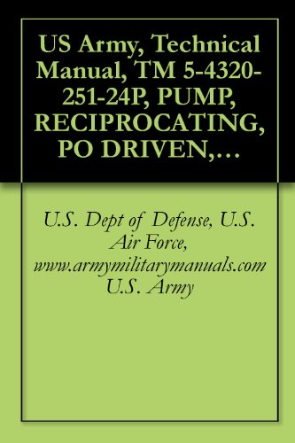 (US Army, Technical Manual, TM 5-4320-251-24P, PUMP, RECIPROCATING, PO DRIVEN, DIAPHRAGM, GAS ENGINE DRIVEN, WHEEL MTD; 100 GPM, (GORMAN-RUPP CO., MODEL ... military manauals, special forces)