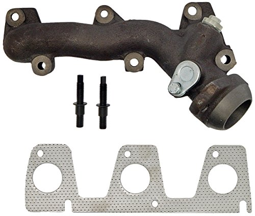 (Dorman 674-413 Drivers Side Exhaust Manifold Kit For Select Ford Models)