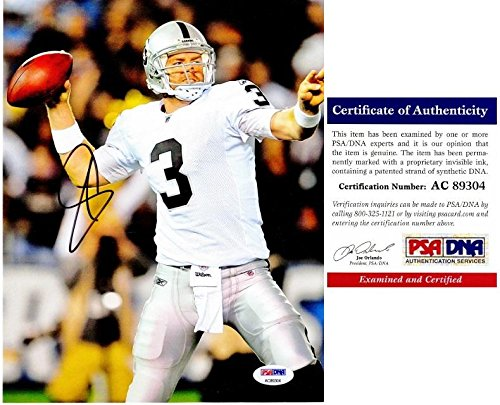 Signed Carson Palmer Photo - 8x10 inch Certificate of Authenticity COA) - 2002 Heisman Trophy Winner - PSA/DNA (Carson Palmer Heisman Trophy)