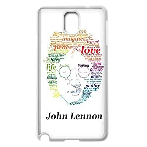 John Lennon Typography 1 3 Samsung Galaxy Note 3 Cell Phone Case White Exquisite designs Phone Case KMJ72969