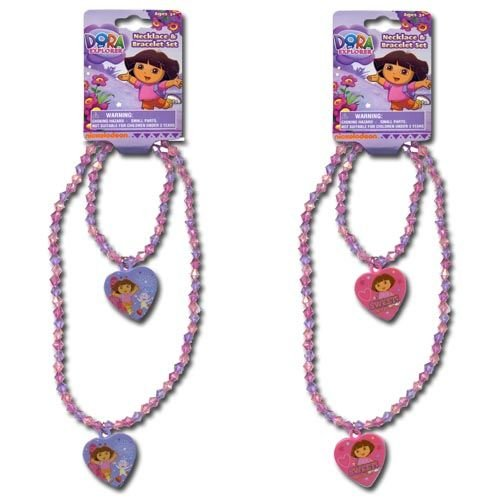 Dora Necklace and Bracelet Set -1set