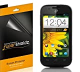 [6-Pack] Supershieldz- High Definition Clear Screen Protector Shield For ZTE Savvy Z750C (Straight Talk ,Net10) + Lifetime Replacements Warranty- Retail Packaging