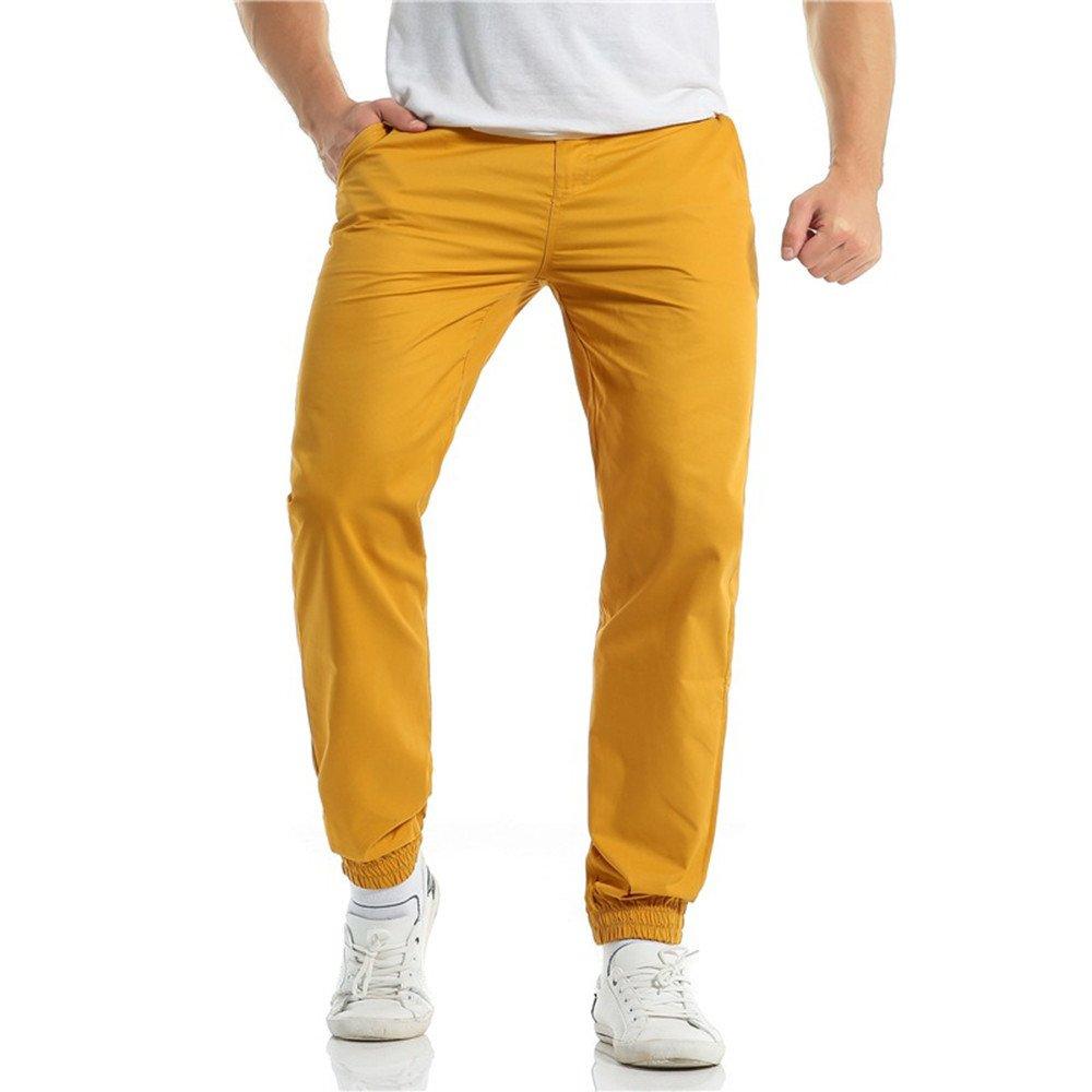 YiYLunneo Pantalones de Hombre Pantalones Deportivos Aire ...