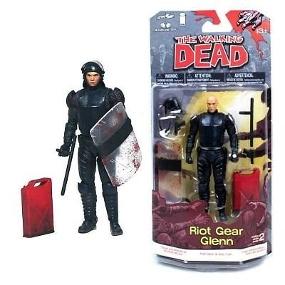 Walking Dead Comic Series 2 Glenn Action Figure McFarlane Toys