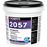 Roberts 2057-1Tile Adheres Composition & Vinyl-Asphalt Structurally Sound Plywood of Underlayment Quality Tile Glue, 1 Gallon