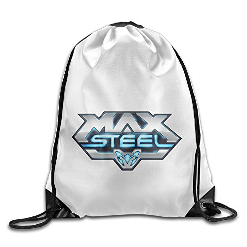 [Bekey Max Steel Movie Gym Drawstring Backpack Bags For Men & Women For Home Travel Storage Use Gym Traveling Shopping Sport Yoga Running] (God Of War 2 Secret Costumes)
