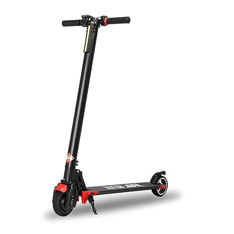 Y&XF Scooter eléctrico de Desplazamiento Ligero y Plegable ...