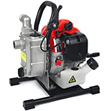 """XtremepowerUS 1"""" 33 CC 2-Stroke Gas-Powered Portable Water Pump"""