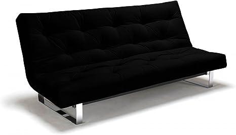 Futon sofá mínimo – Sofá-Cama 140 x 200 cm con Futon & somier ...