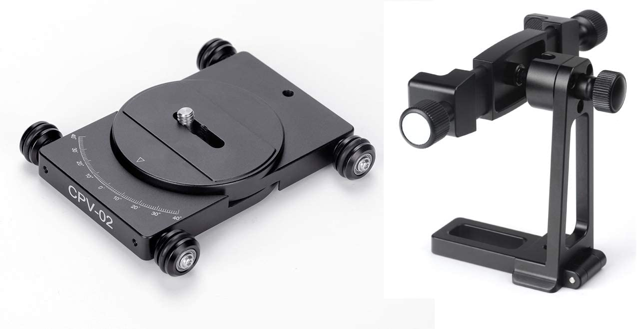 Sunwayfoto CPV-02 T1 Smartphone//Video Camera Dolly//Cart Articulated CPC-01 Phone Holder