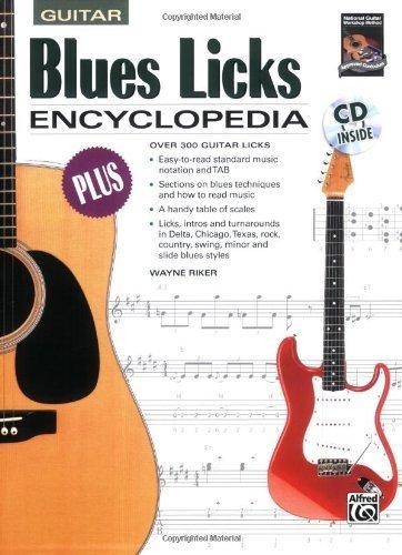 Blues Licks Encyclopedia (Book & CD) [Paperback]