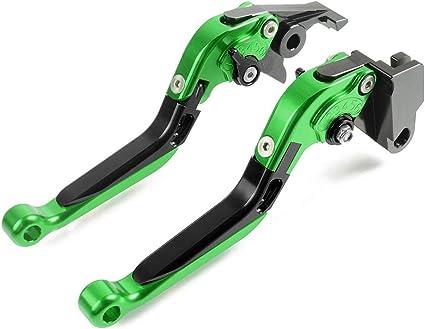 Leviers de frein et dembrayage r/églable pliable extensible pour moto CNC pour Kawasaki Z750 Z 750 2007-2012