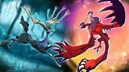 makeuseof New Pokemon XY Xerneas VS Yveltal Art Silk Wall Poster Room Decor 24*36