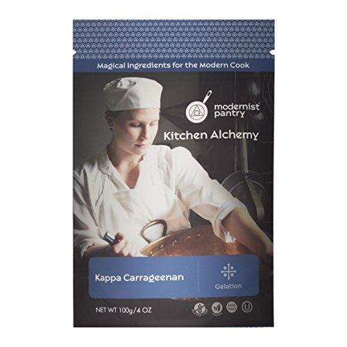 Food Grade Kappa Carrageenan (Vegan Cheese) ⊘ Non-GMO ☮ Vegan ✡ OU Kosher Certified - 100g/4oz