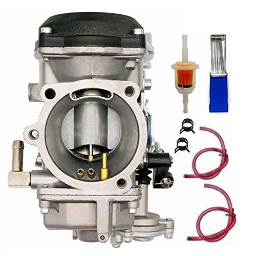 Loofu New 40mm Carburetor CV 40 Compatible with Harley-Davidson 27421-99C 27490-04 27465-04