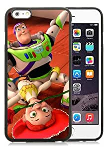Case For iPhone 6 Plus,Disney - Buzz and Jessie Black iPhone 6 Plus (5.5) TPU Case Cover