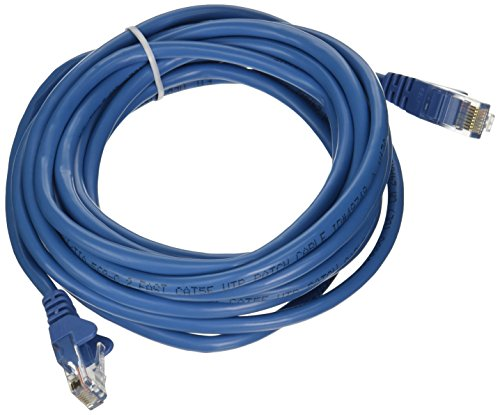 (Belkin A3L791b14-BLU-S Cable,CAT5E,UTP,RJ45M/M,14',BLU,Patch,SNAGLESS)