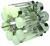 FinePCR 12RT-8 Rotisseries for Rotisserie Rotator Only, 60mm Diameter x 200mm Length, Holds 8