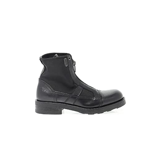 OXS Scarpe Donna 9R2021D 101 Black Polacco Everest Lux Pelle fw 17 18 40 8361e393d47