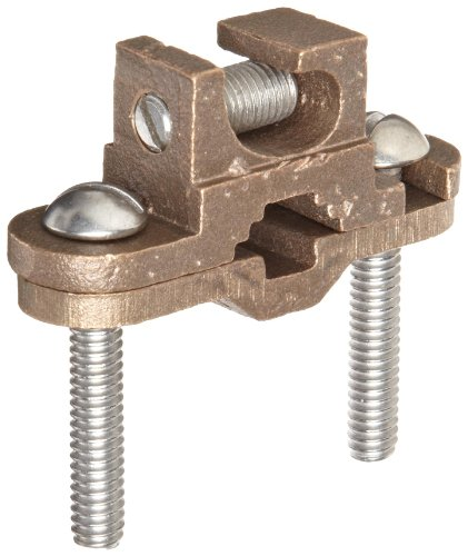 Morris Products 91652 Ground Lay in Clamp, Copper, 1/2 - 1