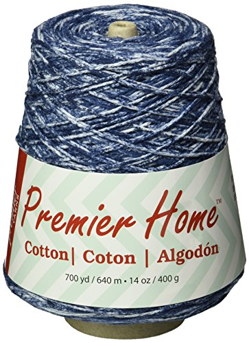 Premier Yarns 1032-02 Home Cotton Yarn - Multi Cone-Denim (Denim Cotton Blends)