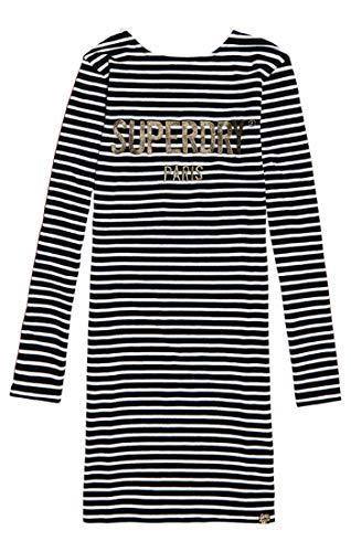 Dress Donna Stripe Wgw Superdry Mini mono Lizzie Multicolore Vestito zwT7fEq