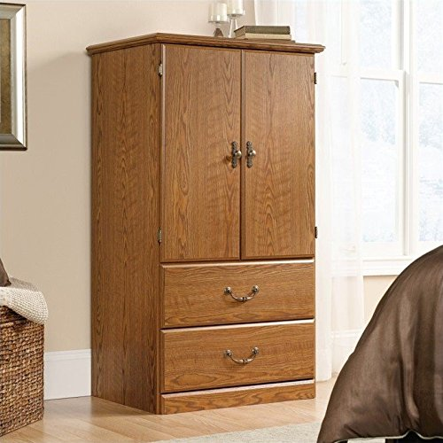 Buy Sauder Orchard Hills Armoire, Carolina Oak Finish
