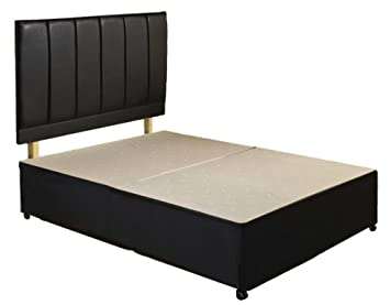 newest ae1bf 71c10 Divan bed base + headboard available in all UK sizes-single, small double,  double, king size and super kingsize (King Size 5'0)