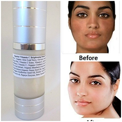 Vitamin C Serum for face,Hyaluronic acid,Carotone,Carrot oil,Beta Carotene,Papaya Ezyme,Vitamin C Serum 20%,Vitamin E,Ferulic Acid,Organic Neem oil,Skin lightening serum for dark spots