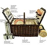 Picnic at Ascot Surrey Willow Picnic Basket With
