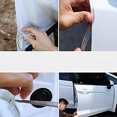 SJ 16Ft (5M ) Car Door Edge Guard Door Edge Guard Trim Car Edge Trim Rubber Seal Protector Guard Strip For Cars Edges (Clear): Automotive