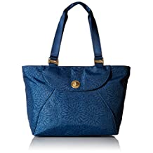 Baggallini Alberta Travel Tote Gold Hardware, Pacific Floral, One Size