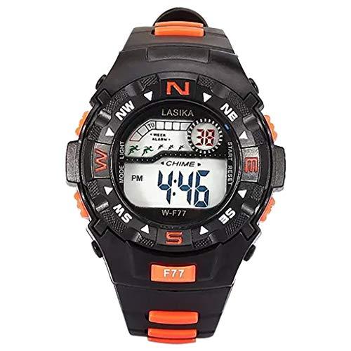 Kanpola Niño Smartwatch Fashion Relojes, Multi Function Alarm Clock Student Waterproof Sports Fashion Electronic Watch: Amazon.es: Relojes